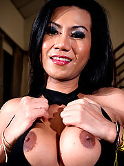 Koi is a hot ladyboy from Bangkok who works at Obsession bar. She\