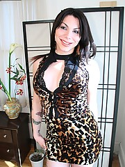 Cute little tgirl Faye from Puerto Rico is horny and hard!