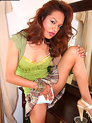 Thalia is an firecracker tranny with a bangin\