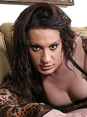Kelly is a full bodied tranny from Sin City. She loves raunchy gang bangs where the cum flows freely!
