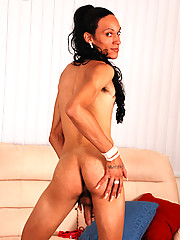 Delilah is a slender latin shemale from Long Beach, CA. This party girl loves meeting beefy guys at the club and having them fuck her doggie style.