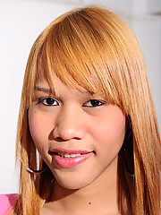 Cute ladyboy with a great smile!