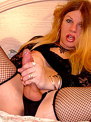 Vicki Richter And Her Big Shemale Cock