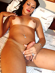 Shenia Coelho stripping and teasing at Grooby-Archives.com