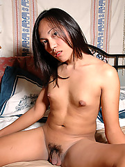 Shy 21 year old from Manila soon gets naked and spread for the camera!