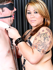 Mistress Delilah loves nothing more than tormenting and dominating her submissives!