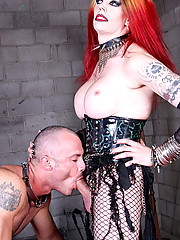 Mistress Tempest gives Paul a grinding like he