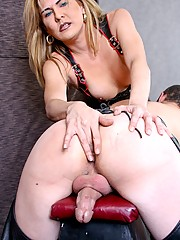 Mistress Cierra invites us into her private dungeon for a lesson on how to dominate a sissy boy. She fucks him deeper than he could ever imagine.