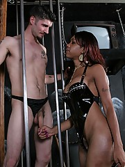 To say that Jade, or Sexy Jade as she is now known, is a true dominatrix would be unfair.  She