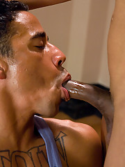 Hot Tranny Sexy Jade fuck stud Lobo deep in the ass in the gym