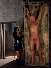 Sexy Jade with her sexy slave chad rock