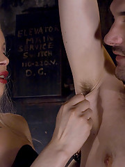 Shemale La Cherry Spice fucks her slave with her tranny dick