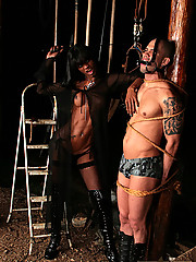 Kawana keeps her man in line foreefully but pleases him in the end