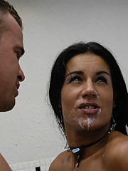Amazing tranny fools some guy into fucking her