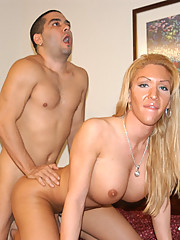 Sweet tanny gets naked and shows she has more than tits and ass