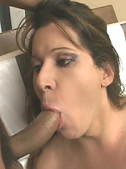 Hot tranny gets her ass plowed in these steamy pix