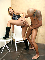 Sexy hot cyara suck and gets pounded in the ass in thestranny pics