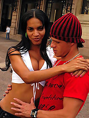 Amazing hot big tits brazilian tranny gets drilled hard in her ass after getting picked up in these public streets picset