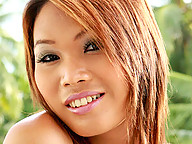 Pretty and petite ladyboy with a thick cock compliments her beautiful smile with a voracious sexual appetite