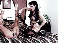 Come dressed in your best slave leather or PVC otherwise, Mistress will enslave you in whatever bondage the last man bitch left behind.