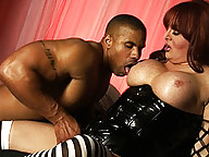 Naughty transsexual gets her tight asshole banged
