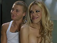 Ts_hottie Paris gets her dick sucked and fucks a new guy in his tight ass. Paris is a beautiful blond with smooth skin, soft lips, and a lovely cock.