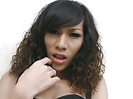 Ladyboy posing and teasing the camera