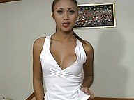 Rafe gets dick sucked by sexy ladyboy
