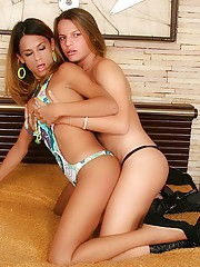 Double the wild depravity with two hot babes