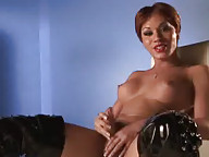 Horny Mia Isabella Enjoying Herself