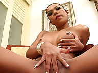 Blonde Asian tranny Oa likes it dirty and sleazy