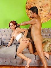 Lovely transsexual Paola seduced & fucked by Ed