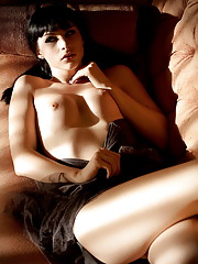 Naughty Bailey Jay seducing with her hotness