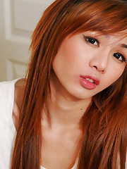 Horny little ladyboy!