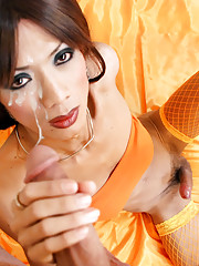 Small tited ladyboy fucked by Rafe