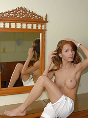 Sexy photos of hot ladyboy stripping