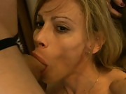 Irresistible TMILF Jasmine Jewels giving a hot blowjob