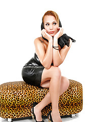 Evellin Rangel looks sexy and glamorous in latex