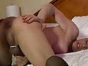 Beautiful TS gets drilled from behind