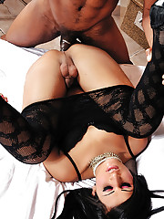 Bruna Butterfly is in wild sex action