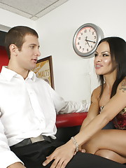 Irresistible Foxxy gets her tight ass fucked hard