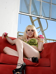 Busty big cocked Jesse strips and poses