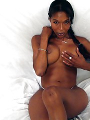 Really tight black tranny getting pounded hard