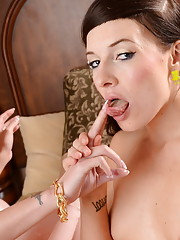 Gorgeous tgirl Mia banging a super hot chick