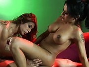 Sweet Foxxy gets her wet tight asshole banged