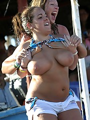 Young and old busty breasts