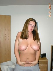 Happy big breasted bimbos