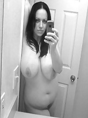 Amateur with huge boobs stripping and they love to fuck.