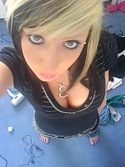 Photo collection of busty emo bitches