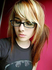 Self-shooting emo babe compilation